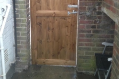 Bespoke Gate Made and Fitted 1